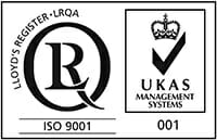 ISO9001 and UKAS small